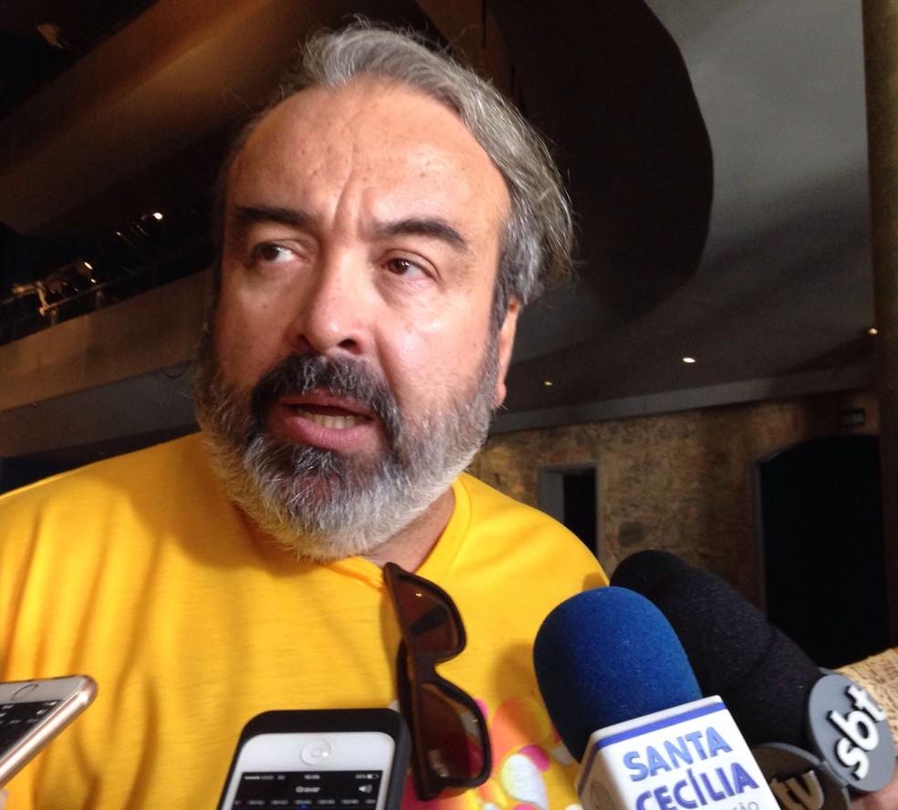 Secretário de Cultura Fábio Alexandre Nunes falou sobre confusão (Foto: G1)