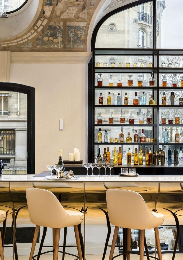 Bar Josephine, no hotel Lutetia (Foto: Divulgação)