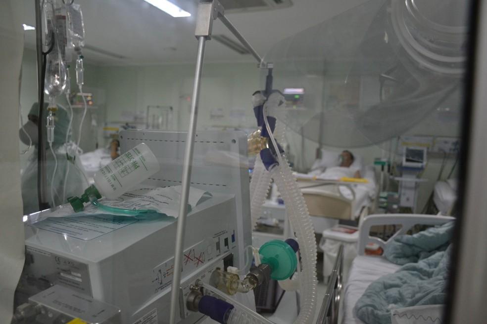 Hospital Regional São Paulo (HRSP), em Xanxerê, no Oeste de Santa Catarina — Foto: Ana Lucietto/Divulgação/HRSP