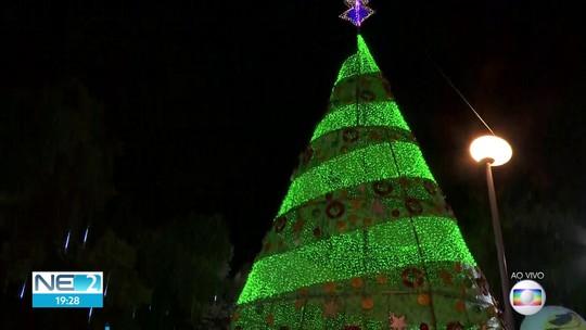 Árvore da Globo e decoração do Natal Solidário são inauguradas e encantam o público