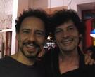 """Emílio de Mello prestigiou Thierry Trémouroux, belga radicado no Rio que dirige a peça """"Noites brancas""""/ Foto: Divulgação"""