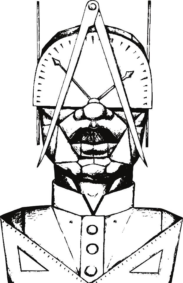 Croqui de estátua em homenagem a Tebas, homem escravizado que projetou monumentos na capital (Foto: Divulgação)