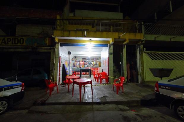 Local da série de ataques em Osasco e Barueri (Foto: Nivaldo Lima/Estadão Conteúdo)