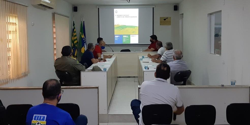 Reunião FFP com os clubes  — Foto: Divulgação/FFP