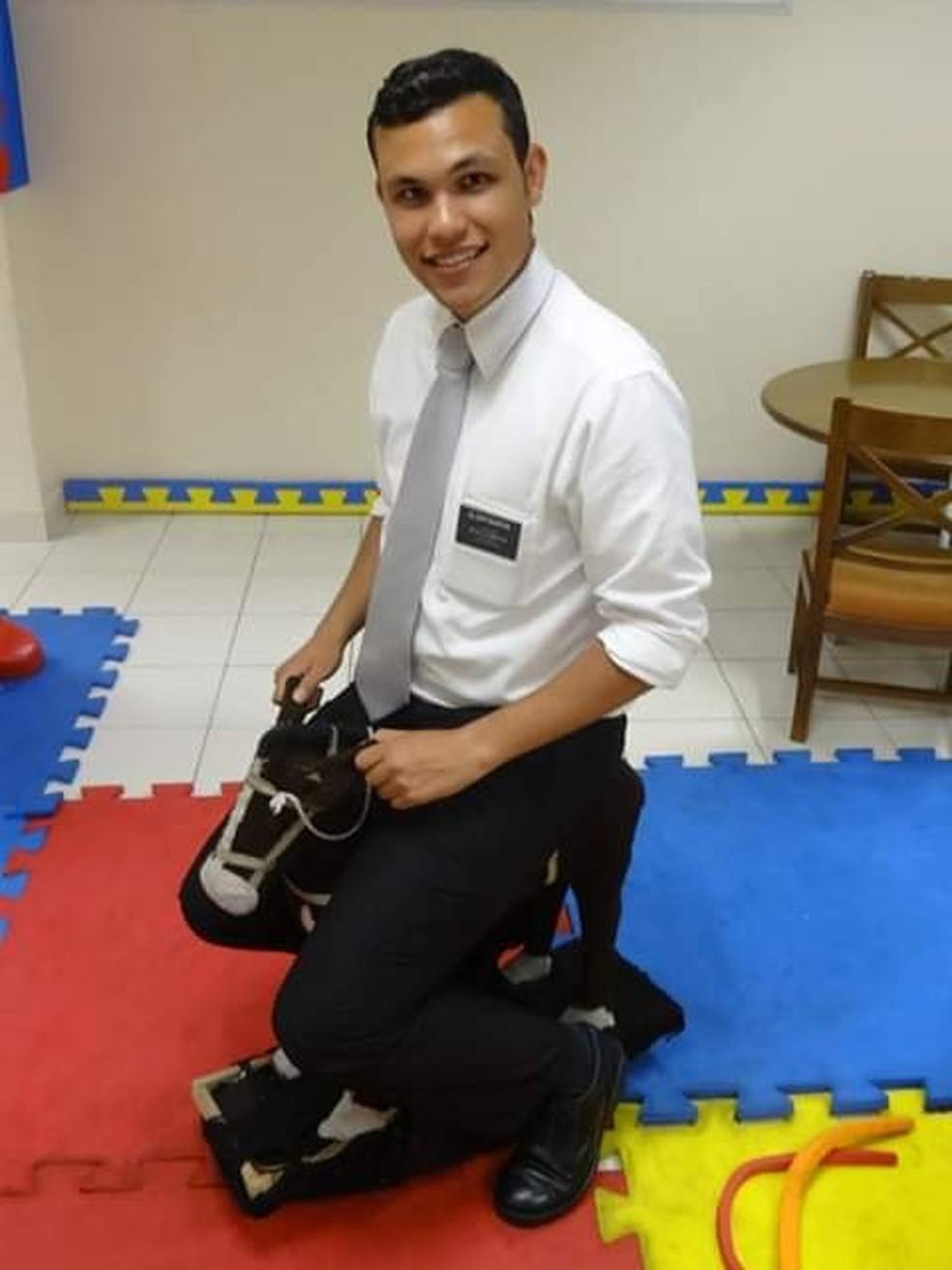 Rafael Baron morreu com dois tiros enquanto trabalhava — Foto: Redes Sociais