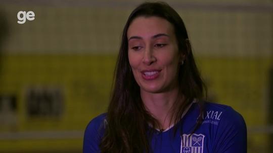 """De volta, Sheilla confessa sonho olímpico: """"Encerrar na seleção com medalha seria muito melhor"""""""