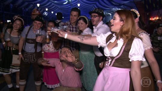 Começa a edição paulista da festa alemã Oktoberfest