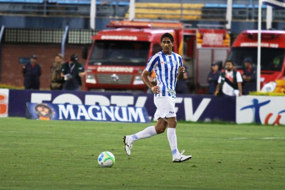 Pablo durante sua passagem no Avaí — Foto: Jamira Furlani/Avaí FC