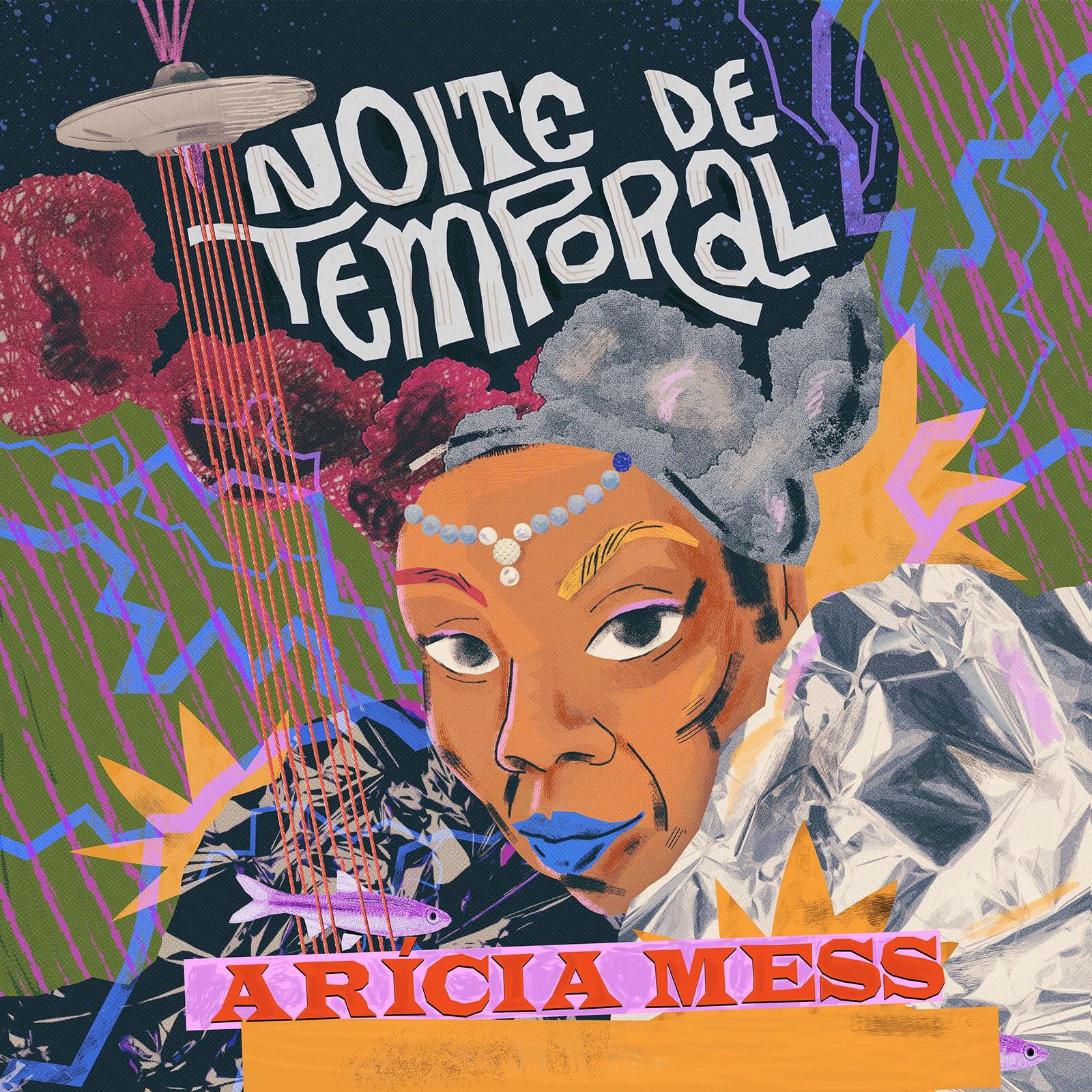 Arícia Mess encara 'Noite de temporal', de Dorival Caymmi, em single agendado para fevereiro