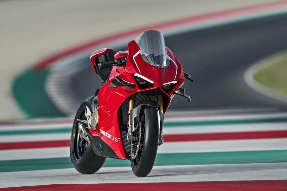 Ducati V4R — Foto: Ducati/Divulgação
