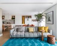 Como decorar o sofá com almofadas e mantas de forma acolhedora
