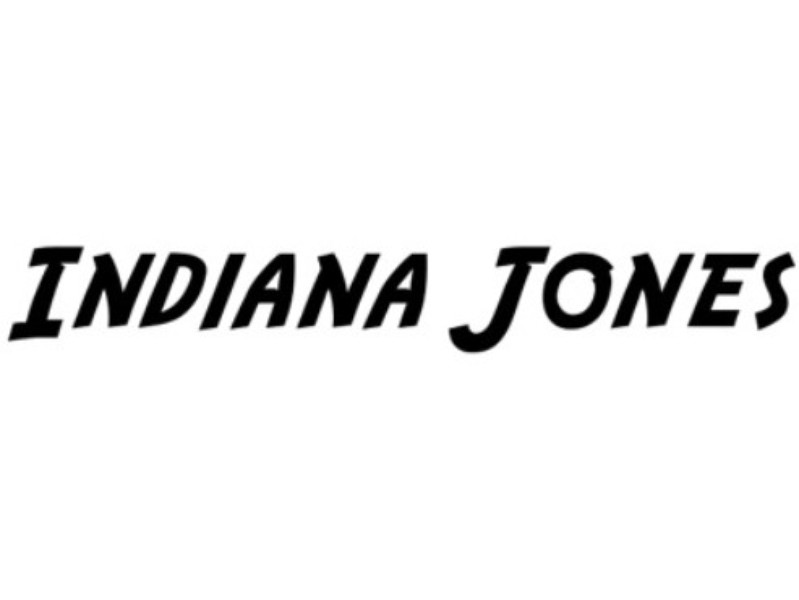 indiana jones font