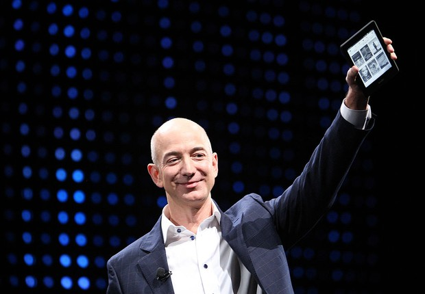Jeff Bezos, fundador da Amazon (Foto: David McNew/Getty Images)