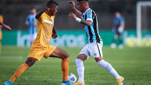 Brasiliense x Grêmio Boca do Jacaré Copa do Brasil Jhonata Robert