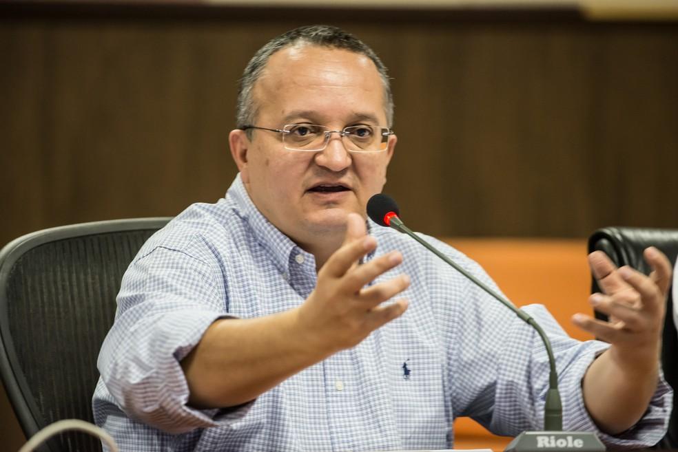 Governador Pedro Taques (PSDB) encaminhou documento ao ministro do STF no dia 31 de outubro (Foto: José Medeiros/Secom-MT)