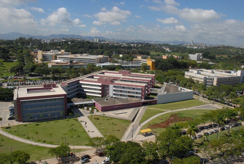 Campus Pampulha da UFMG  — Foto: Foca Lisboa/UFMG/Divulgação