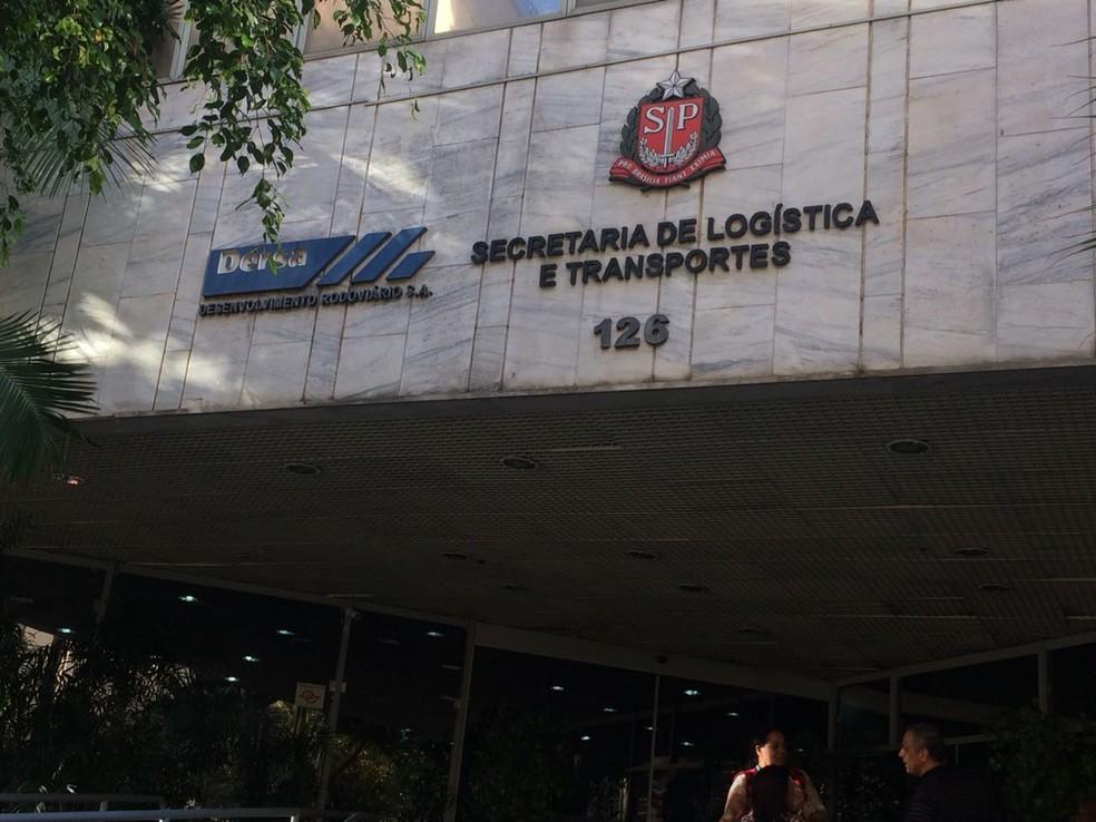 PF faz operação para prender 15 pessoas suspeitas de desvio de dinheiro em obras do Rodoanel (Foto: Abraão Cruz/TV Globo)