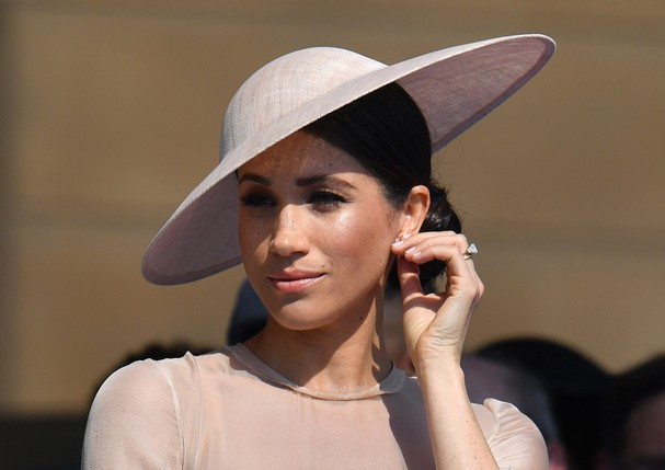 LONDON, ENGLAND - MAY 22:  Meghan, Duchess of Sussex attends The Prince of Wales' 70th Birthday Patronage Celebration held at Buckingham Palace on May 22, 2018 in London, England.  (Photo by Dominic Lipinski - Pool/Getty Images) (Foto: Getty Images)