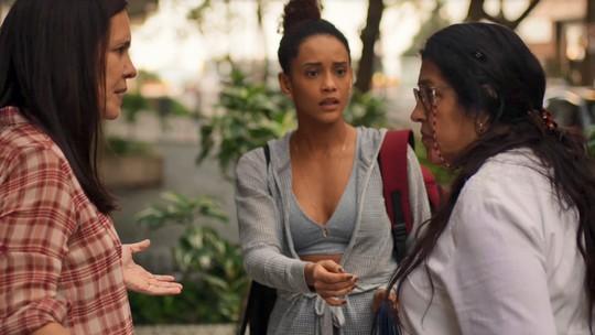 Regina Casé, Taís Araujo e Adriana Esteves fazem balanço da primeira fase de 'Amor de Mãe'