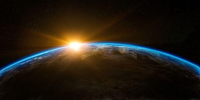 Terra, mundo, espaço, universo, sol, nascente (Foto: Pixabay)