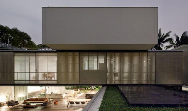 Uma casa em São Paulo onde o jardim é a atração principal (Foto: Maira Acayaba)