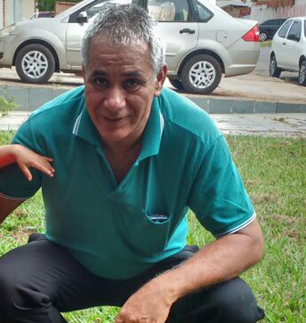 Vigilante Eronde osmar Sila, 58 anos, que morreu na quarta (3) com suspeita de febre amarela, no DF (Foto: Arquivo Pessoal)
