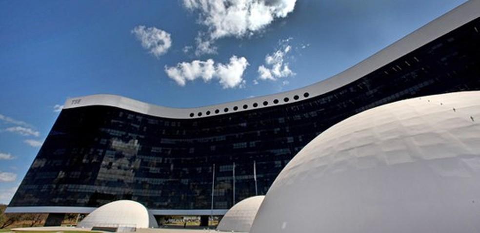 Sede do Tribunal Superior Eleitoral (TSE), em Brasília — Foto: Divulgação/TSE