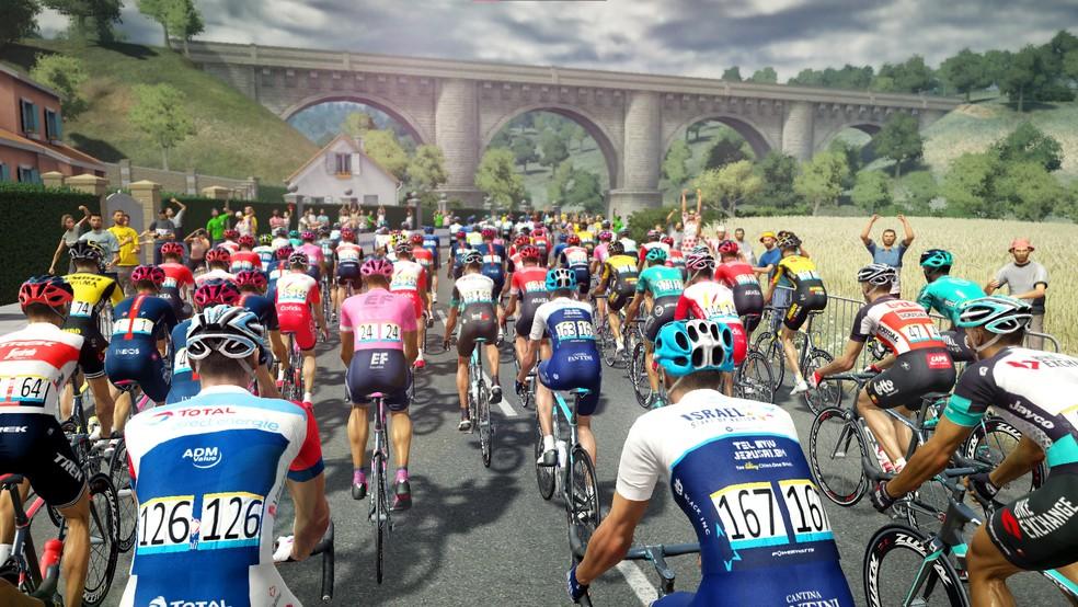 Tour de France traz simulação completa da histórica Volta da França e do ciclismo de estrada — Foto: Divulgação/Cyanide