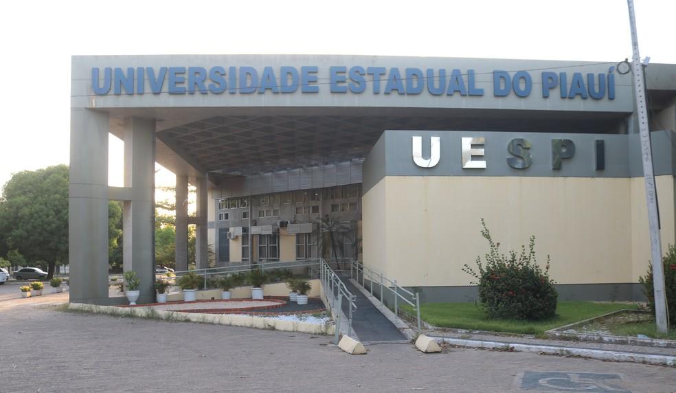 Universidade Estadual do Piauí (UESPI) — Foto: Lucas Marreiros/G1
