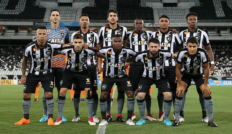 Análise  Botafogo versão 2018 completa 10 jogos ainda com muitas  interrogações 6b9673e09bcdd