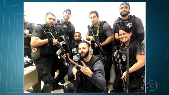 Rogério 157 aparece algemado e sorridente em selfies com policiais; corregedoria apura