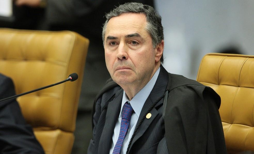 O ministro Luís Roberto Barroso, do Supremo Tribunal Federal — Foto: Carlos Moura/SCO/STF