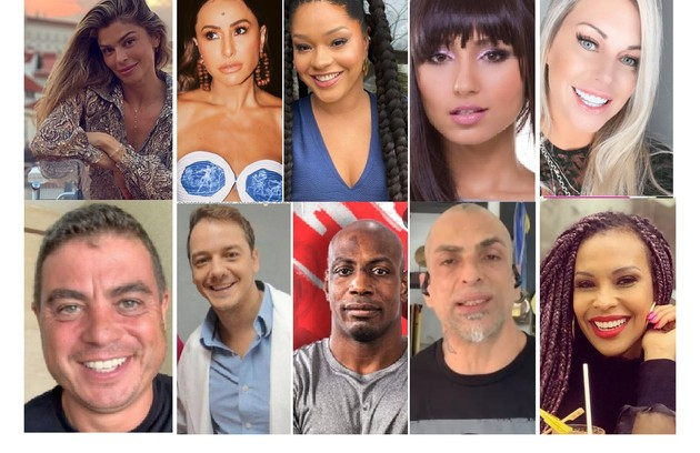 Participantes mais marcantes das edições 3, 4 e 5 do 'Big Brother Brasil' (Foto: Reprodução/redes sociais e TV Globo)