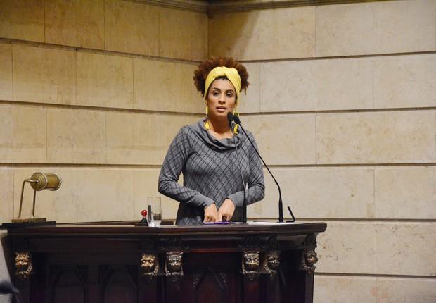 Marielle Franco (Foto: Renan Olaz/CMRJ)