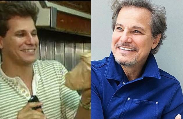 """Edson Celulari trabalhou numa padaria: """"A padaria era do meu tio. Eu ajudava"""" (Foto: Reprodução)"""