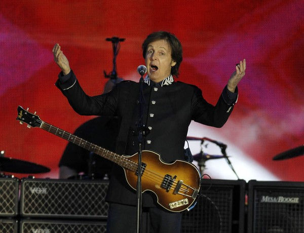 Próximo disco de Paul McCartney terá música para Trump