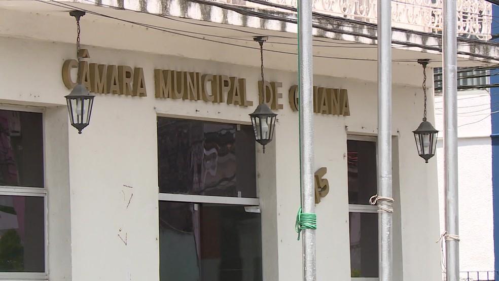 Cãmara Municipal de Goiana fica no Grande Recife — Foto: Reprodução/TV Globo