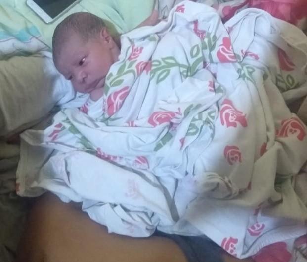 Guilherme pouco depois do parto (Foto: Arquivo pessoal)