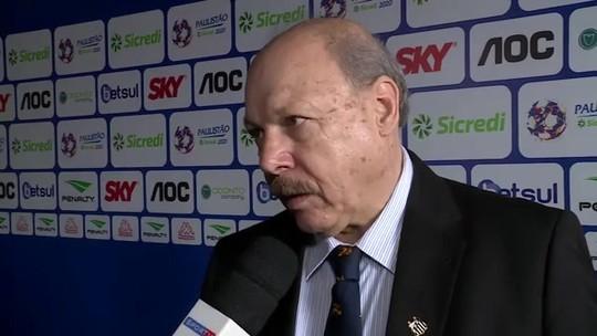 Peres diz crer que Gustavo Henrique ficará no Santos e fala de possível interesse do Palmeiras