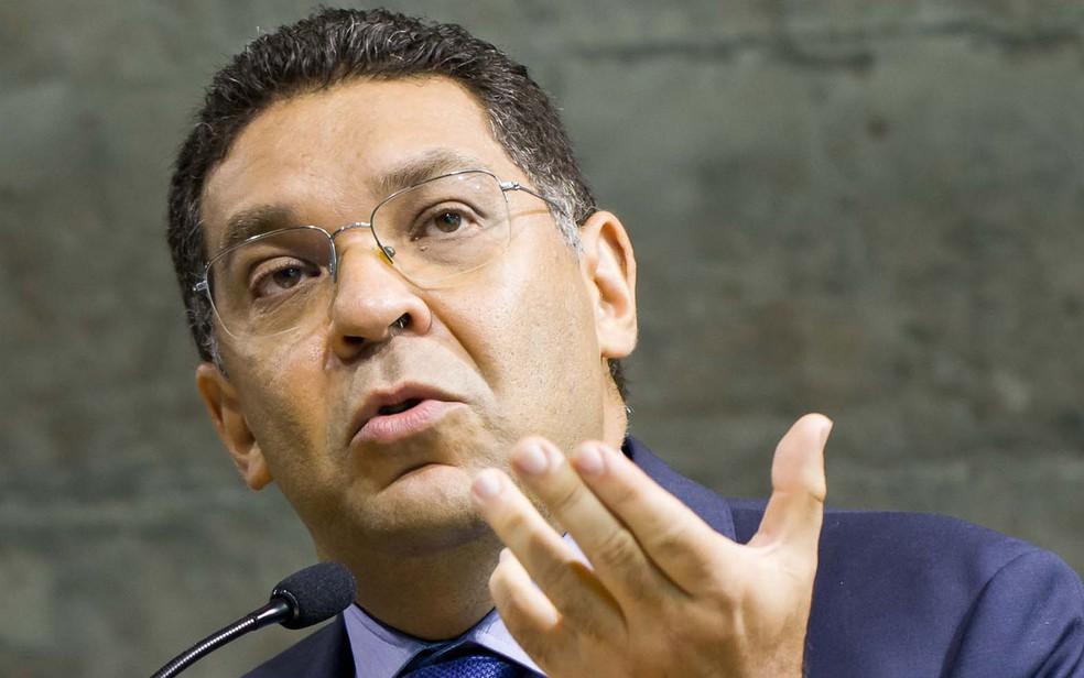 O secretário do Tesouro, Mansueto Almeida — Foto: Daniel Resende/Futura Press/Estadão Conteúdo