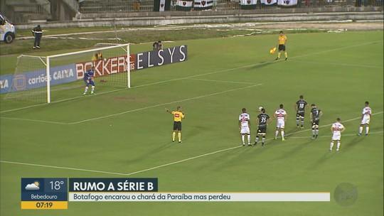 Erro de transição, time reativo: as impressões de Condé sobre a derrota do Botafogo-SP