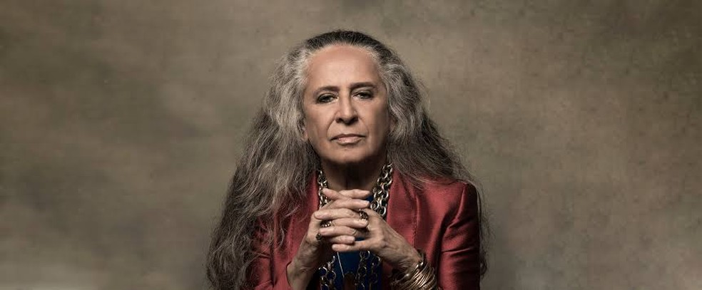Maria Bethânia tem a gravação de 'Onde estará o meu amor', de 1996, incluída na trilha sonora de 'Amor de mãe' — Foto: Jorge Bispo / Divulgação