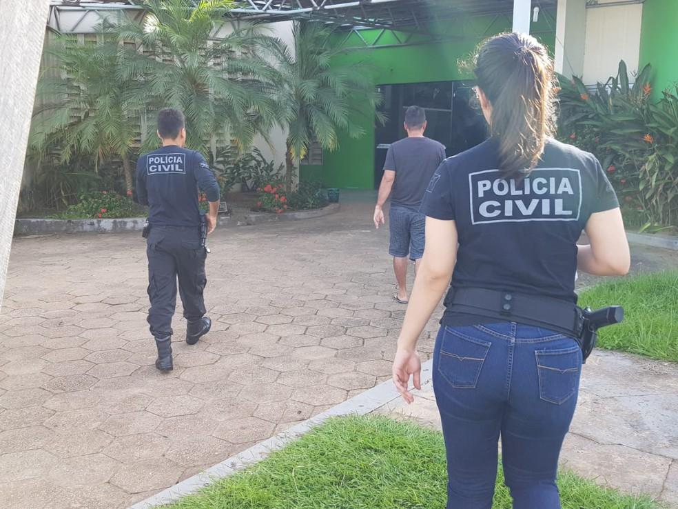 Delegado destacou que internet não é terra sem lei e que criminosos deixam rastro digital  — Foto: Divulgação/Polícia Civil