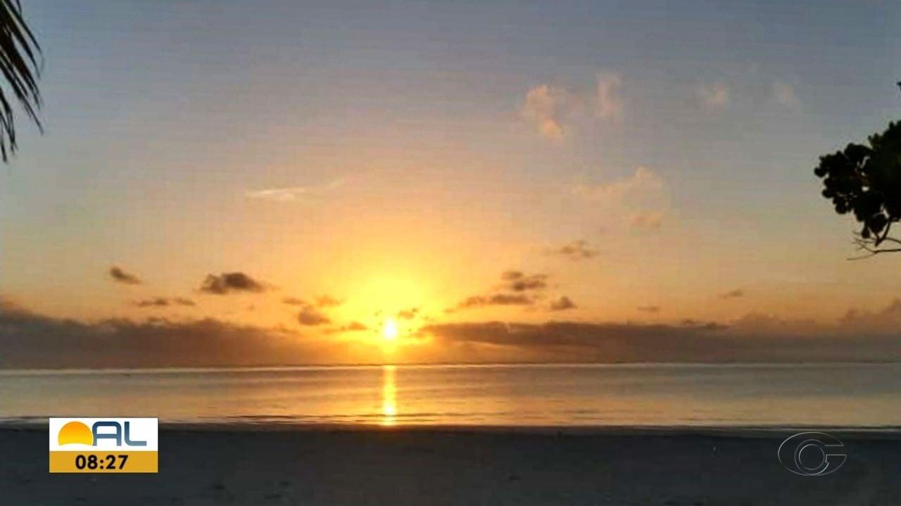 Veja fotos do amanhecer enviadas pelos telespectadores