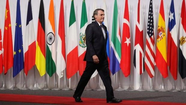 'Histórico!', escreveu Bolsonaro no Twitter após o anúncio do acordo entre Mercosul e União Europeia (Foto: AFP/ Via BBC News Brasil)