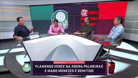 """Seleção SporTV debate demissão de Mano Menezes do Palmeiras: """"Foi punido"""", diz jornalista"""