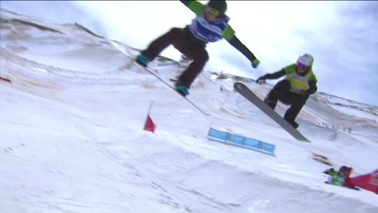 Isabel Clark para nas quartas de final no Mundial de snowboard na Espanha