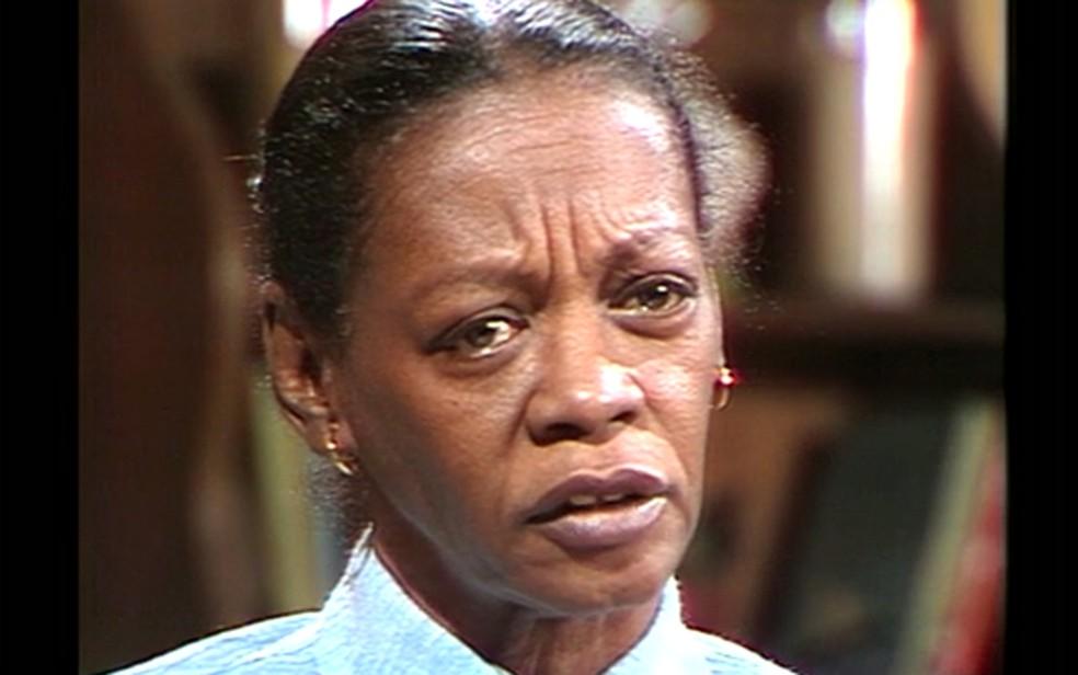 Ruth de Souza na série 'Malu mulher', em 1980 — Foto: TV Globo