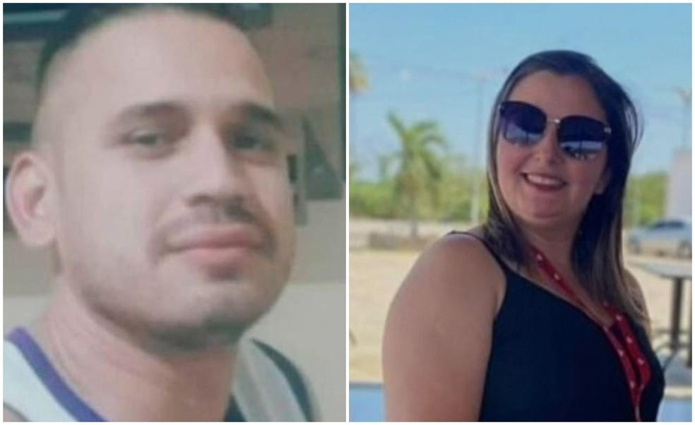 Herilson e Aparecida foram indiciados pela Delegacia Regional de Canindé. — Foto: TV Verdes Mares/Reprodução