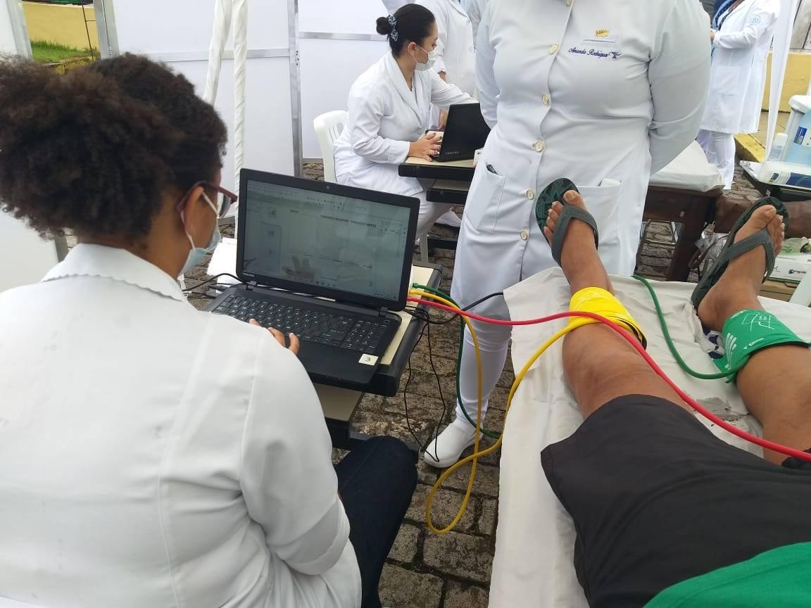 Santa Casa de Santos, SP, realiza exames gratuitos para detectar artérias bloqueadas